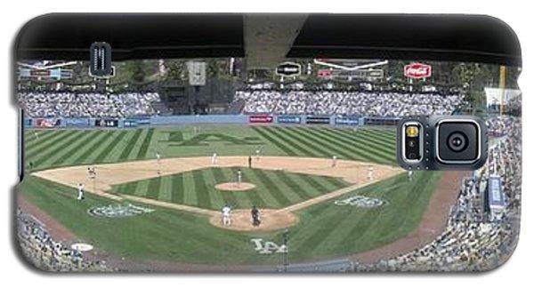 Dodger Baseball Galaxy S5 Case by Chris Tarpening