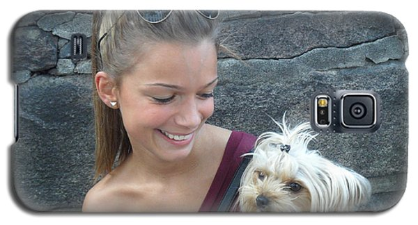 Dog And True Friendship 4 Galaxy S5 Case by Teo SITCHET-KANDA