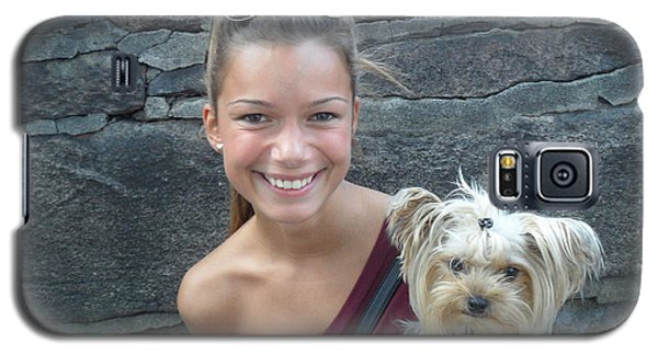 Dog And True Friendship 5 Galaxy S5 Case by Teo SITCHET-KANDA