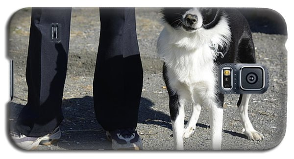 Dog And True Friendship 9 Galaxy S5 Case by Teo SITCHET-KANDA
