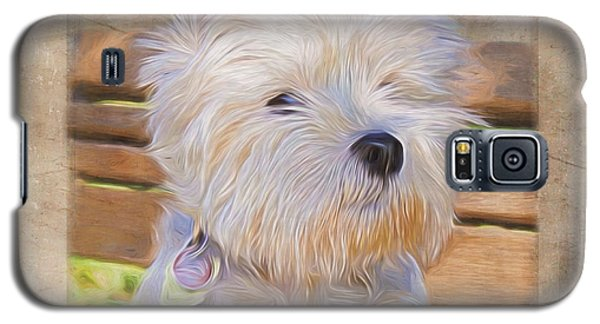Dog Art - Just One Look Galaxy S5 Case