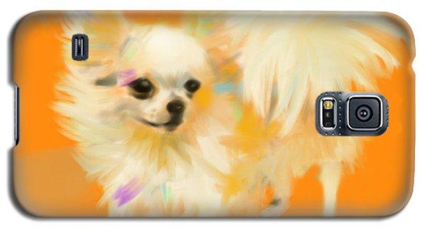 Dog Chihuahua Orange Galaxy S5 Case
