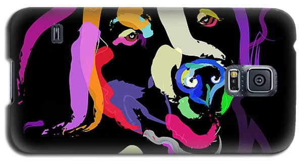Dog Iggy Color Me Bright Galaxy S5 Case