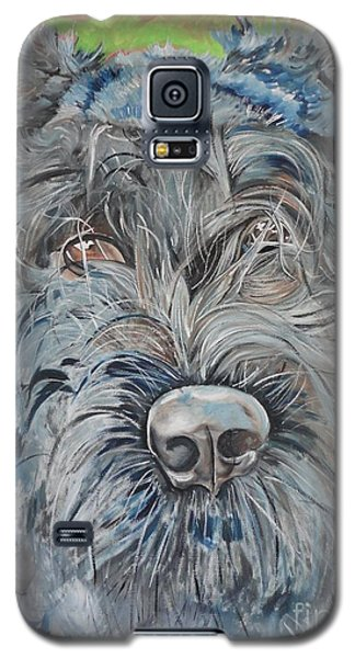 Galaxy S5 Case featuring the painting Dog Of Flanders The Bouvier by PainterArtist FIN