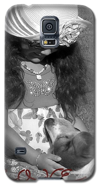 Galaxy S5 Case featuring the photograph Doggy Love  by Heidi Manly
