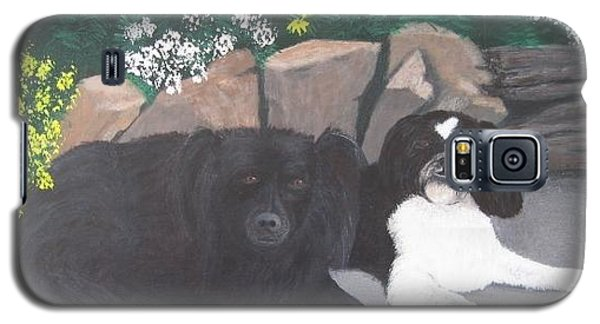 Dogs Daisy And Buttons Galaxy S5 Case