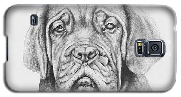 Dogue De Bordeaux Dog Galaxy S5 Case by Lena Auxier