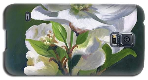 Galaxy S5 Case featuring the painting Dogwood Blossom by Alecia Underhill