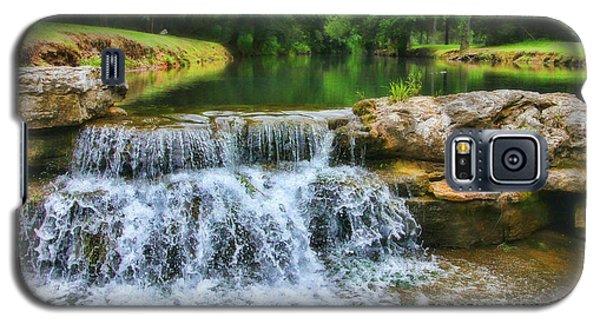 Dogwood Canyon Falls Galaxy S5 Case by Elizabeth Winter