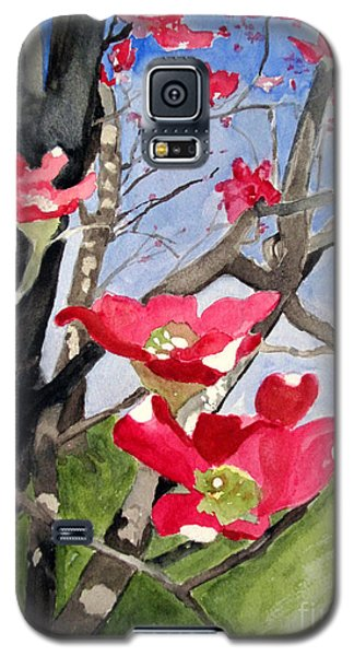 Dogwood Flowers Galaxy S5 Case by Sandy McIntire