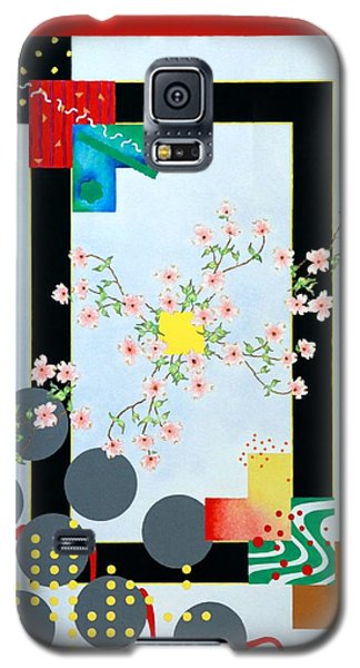 Galaxy S5 Case featuring the painting Dogwood by Thomas Gronowski