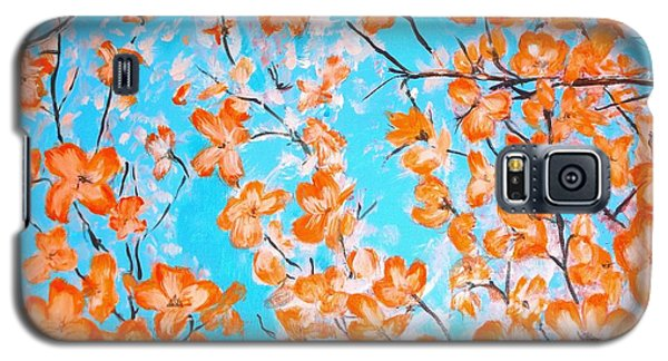 Dogwoods Galaxy S5 Case by Donna Dixon