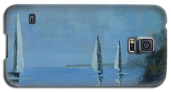 Galaxy S5 Case featuring the painting Doldrums by Jo Appleby