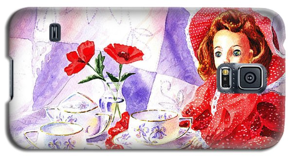 Doll At The Tea Party  Galaxy S5 Case