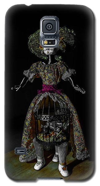 Doll With Dead Bird In New Orleans Galaxy S5 Case