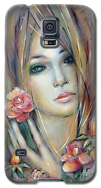 Doll With Roses 010111 Galaxy S5 Case