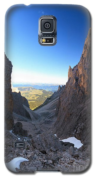 Galaxy S5 Case featuring the photograph Dolomites At Morning by Antonio Scarpi