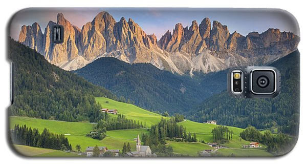 Dolomites From Val Di Funes Galaxy S5 Case
