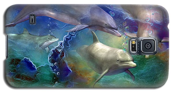 Dolphin Dream Galaxy S5 Case by Carol Cavalaris