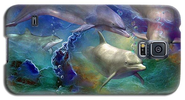 Dolphin Dream Galaxy S5 Case by Carol Cavalaris