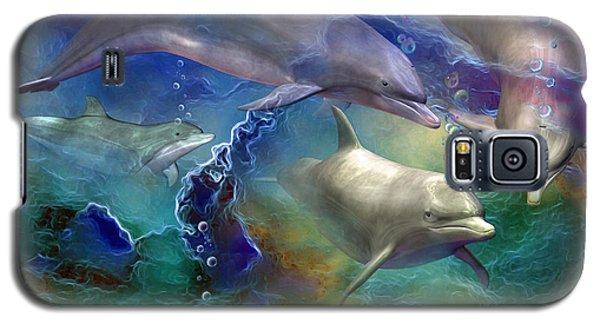 Dolphin Dream Galaxy S5 Case
