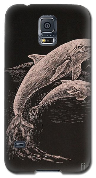 Dolphin Dynamic Duo Galaxy S5 Case