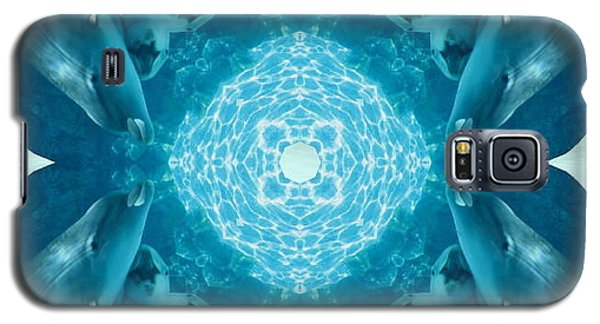 Dolphin Kaleidoscope Galaxy S5 Case