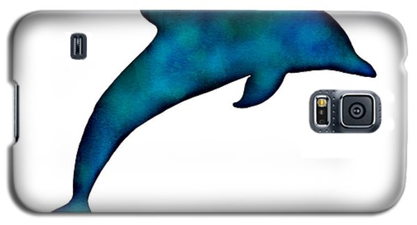 Galaxy S5 Case featuring the painting Dolphin by Laura Bell