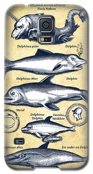 Dolphins - Historiae Naturalis - 1657 - Vintage Galaxy S5 Case