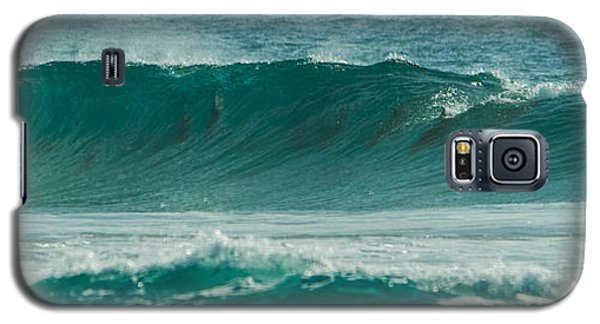 Dolphins In Wave 10 Galaxy S5 Case