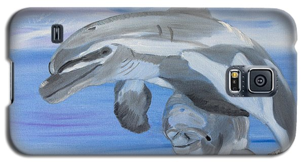 Sublime Dolphins Galaxy S5 Case by Meryl Goudey