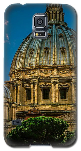Galaxy S5 Case featuring the photograph Dome Of Michelangelo by Rob Tullis