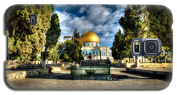 Dome Of The Rock Hdr Galaxy S5 Case