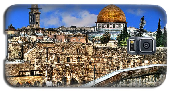 Galaxy S5 Case featuring the photograph Dome Of The Rock by Doc Braham