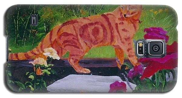 Domestic Tiger Galaxy S5 Case