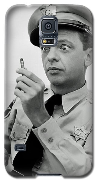 Barney Fife - Don Knotts Galaxy S5 Case by Mountain Dreams