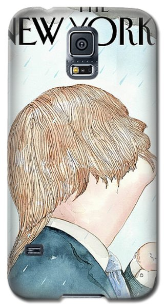 Donald's Rainy Days Galaxy S5 Case by Barry Blit