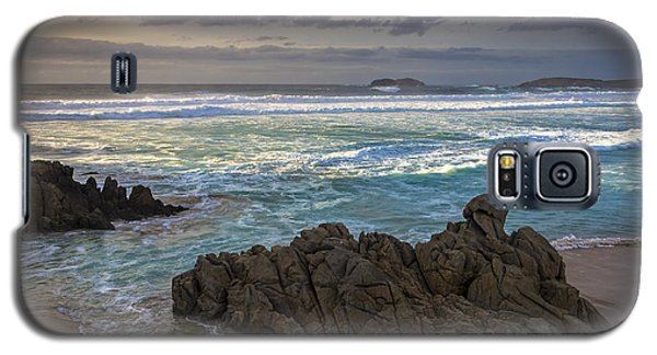 Galaxy S5 Case featuring the photograph Doninos Beach Ferrol Galicia Spain by Pablo Avanzini