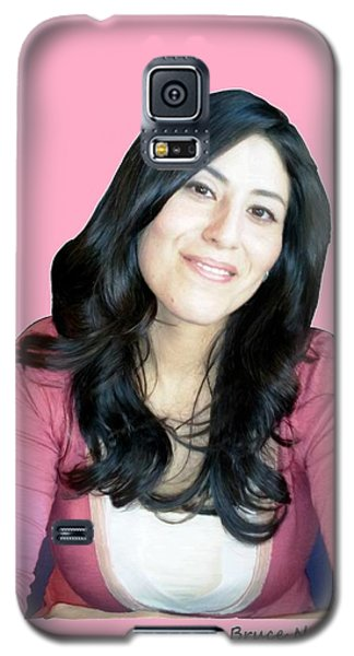 Donna In Pink Galaxy S5 Case by Bruce Nutting
