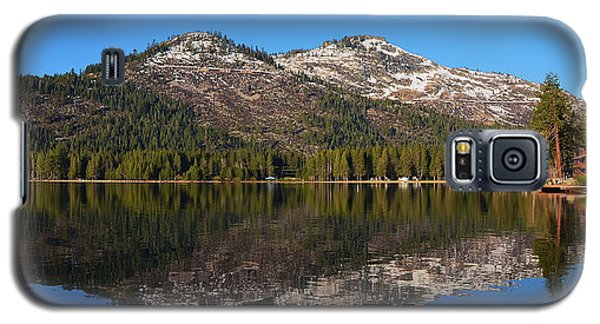 Donner Lake Reflection Galaxy S5 Case
