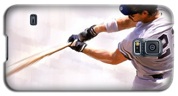 Donnie Ballgame Don Mattingly  Galaxy S5 Case by Iconic Images Art Gallery David Pucciarelli