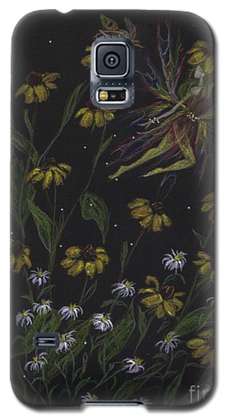 Galaxy S5 Case featuring the drawing Don't Be Following Me by Dawn Fairies