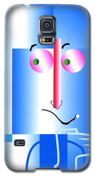 Galaxy S5 Case featuring the digital art Don't Blame Me by Mary Armstrong