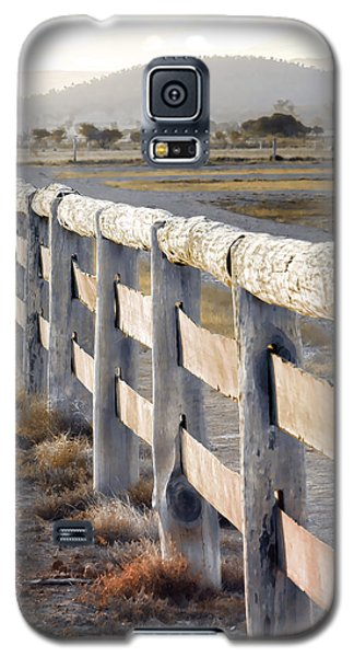 Galaxy S5 Case featuring the photograph Don't Fence Me In by Holly Kempe