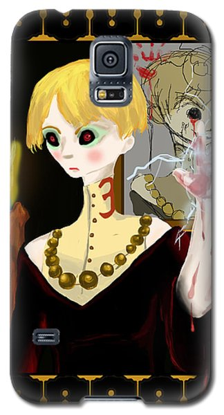 Don't Speak Her Name Galaxy S5 Case by Jessica Mitchell