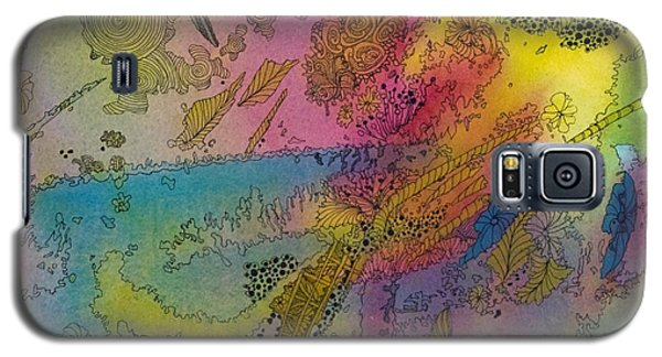 Doodle With Color Galaxy S5 Case