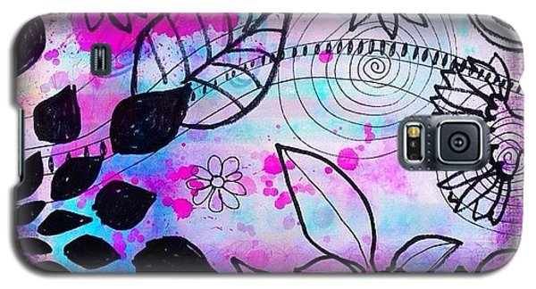 Color Galaxy S5 Case - #doodles And #color #ipad #digital by Robin Mead