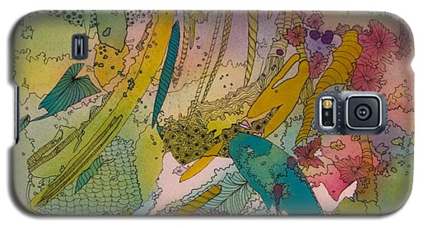 Doodles With Abstraction Galaxy S5 Case