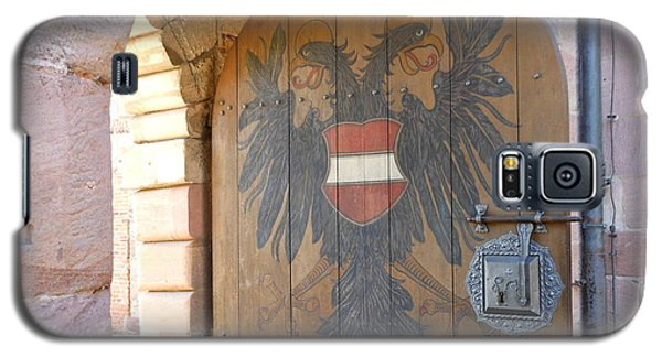 Galaxy S5 Case featuring the photograph Door At Nuremberg by Kay Gilley