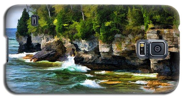 Door County Cave Point Cliffs Galaxy S5 Case